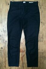 GAP Women's Signature Skinny Ankle Stretchy Dark Denim Jeans Trousers Size 34