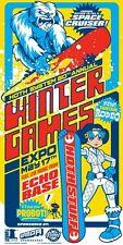 Leia Snowboarding Star Wars Hoth Echo Base Wampa Snowboard Winter Sports Ad Art