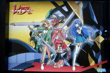 MAGIC KNIGHT RAYEART   VINTAGE ANIME POSTER aus JAPAN  73x51,5cm 4694  CLAMP MKR