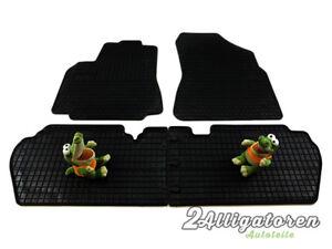 4 x Gummi-Fußmatten ☔ für CITROEN Berlingo II seitdem 2008