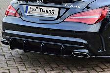 Racing Heckansatz Heckeinsatz Diffusor aus ABS für Mercedes CLA 45 AMG Facelift
