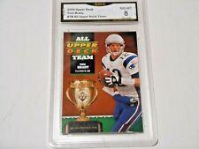 Tom Brady GRADED CARD!! 2006 Upper Deck #TB Insert Patriots MVP!! 8%-1