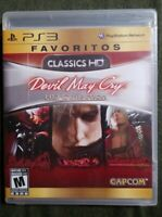 Devil May Cry HD Collection PS3 Sony PlayStation 3 BRAND NEW SEALED
