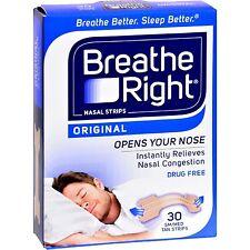 Breathe Right nasal tiras original bronceado Pequeño/mediana 30