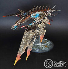 Painted Warhammer 40000 Chaos Space Marines Heldrake (commission)