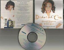 DEBORAH COX Nobody's Supposed be here 5TRX MIXES & DUB & INSTRUMENTAL CD single