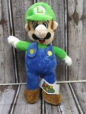 "Super Mario Bros. Luigi 9"" Plush Stuffed Toy"