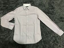 French Connection Mens Multicolor Plaid Long Sleeve Button Up Shirt  Size Small