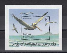 TIMBRE STAMP BLOC ILE ANTIGUA Y&T#188 OISEAU BIRD NEUF**/MNH-MINT 1990 ~B72