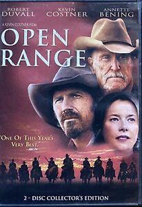 Open Range (DVD, 2003) (Region 1)