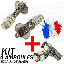 ► KIT 4 AMPOULE XENON ║  2x H1 + 2x LED T10 ║ SMD CANBUS ANTI ERREUR ODB