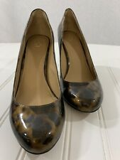 Ann Taylor Size 8 M Womens Animal Print High Heel Pumps Shoes
