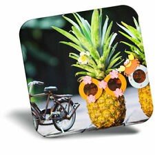 Awesome Fridge Magnet - Cycling Bike Couple Pineapple Cool Gift #12702