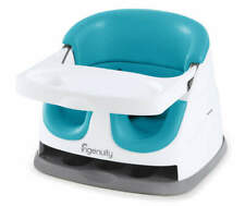 Ingenuity Peacock Blue Baby Base 2-in-1 Booster Feeding Seat