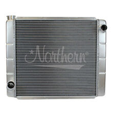 """Northern 209678 Jeep Style All Aluminum Radiator Single Pass Off Road 24"""" x 19"""""""