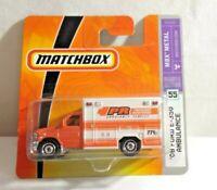 Sealed MBX Heroic Rescue Ford E-350 Ambulance Medic Matchbox