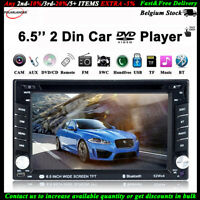 "7"" Stereo Autoradio Remote DVD/CD Player Touch Screen Bluetooth USB/SD/AUX 2 Din"