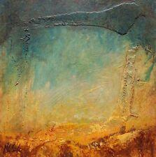 Tableau abstrait,surréalisme, fantastique,  paysage.