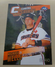 2014 MICHAEL WELLS Australian Baseball League - Canberra Cavalry