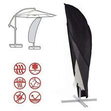 280cm Housse de Parasol Couverture Déporté en Oxford imperméable UV Protection