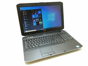 """Dell Latitude E5530 15.6"""" Widescreen Laptop i3 2.4GHz, 8GB, 320GB"""
