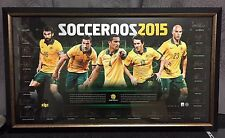 Tim Cahill Signed Socceroos Memorabilia Asian Cup 2015 - #10/100 + Whole Team