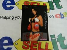 """autographed Bench Warmer Cards """"LORIANN VALENCIA""""From Series In 2005"""