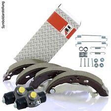 Bremsbackensatz + 2 Bremszylinder + Montagesatz Set für Opel Adam Corsa E
