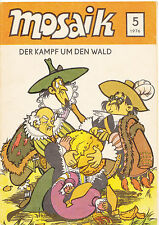 DDR Zeitschrift Jugendzeitschrift Comic Mosaik Abrafaxe Heft 5 1976 Mai