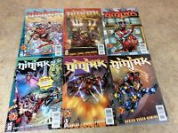 NINJAK #1,2,3,4,5,6 LOT OF 6 NM COMIC 1997 ACCLAIM/VALIANT