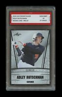 ADLEY RUTSCHMAN 2019 LEAF SILVER 1ST GRADED 10 ROOKIE CARD RC BALTIMORE ORIOLES