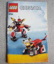 LEGO Creator 5764, instruction, manual