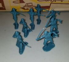 1960s Marx Giant Fort Apache Playset    Soldier Lot Snipers Set 8 #6063