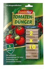 (€7,07/kg)Tomatendünger Stäbchen 2 X 10 Stück Tomaten Düngestäbchen Langzeit