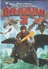 HOW TO TRAIN YOUR DRAGON 2 [2014] DVD New & Sealed