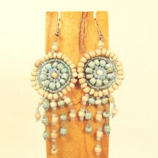 Wholesale Lot 12 PCS Handmade Beaded Dreamcatcher Earrings 12 COLORS