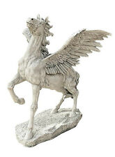 Pegasus Ancient Mythical Winged Horse Garden Sculpture Statue