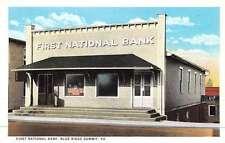 Blue Ridge Summit Pennsylvania First National Bank Antique Postcard K46654
