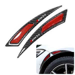 PVC Plastic Anti-scratch Protector Strip For Car Fender Flare Eyebrow 24cm 2Pcs