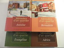 Memoires d'un Quartier - by Louise Tremblay-D'Essiambre Book 2,3,4,5.