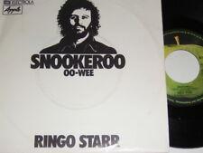"7"" - Ringo Starr (Beatles) Snookeroo & OO Wee - 1974 # 6240"