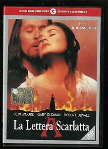 LA LETTERA SCARLATTA (1995) di Roland Joffé - Demi Moore  DVD EX NOLEGGIO C.GORI