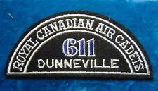 CANADA Royal Canadian Air Cadets DUNNEVILLE 611 squadron shoulder flash