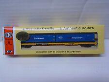 N Scale  Con-Cor 89' FlatCar Trailer Train w.Container Pacer Stacktrain #2