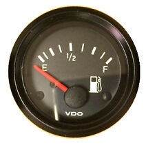 "Fuel level gauge, VDO Genuine Cockpit 301-907, 2""/52mm, w/wire harness"