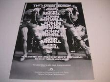 JOHN MAYALL a new group killer bandsmen & musical genius 1974 Promo Poster Ad