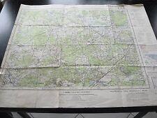 alte DDR Landkarte Karte Lübben N 52-2 von 1957 Nur für Dienstgebrauch