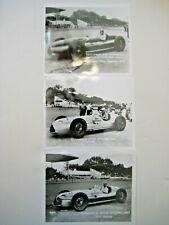 "1940's Novi Photos (3) from Indianapolis Motor Speedway - 5"" x 4"""