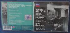 BEETHOVEN - THE PIANO CONCERTOS - DIABELLI VARIATIONS-BACKHAUS - 4CD n.3995/4251