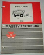 Massey Ferguson Mf 8570 Combine Parts Catalog Book Manual Original Dealers 1297